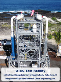 OTEC Heat Exchange Test Facility