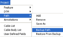 Auto Path Backup has been modified