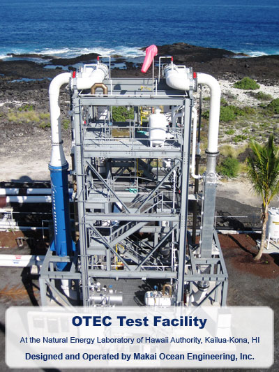 OTEC Heat Exchanger Test Facility